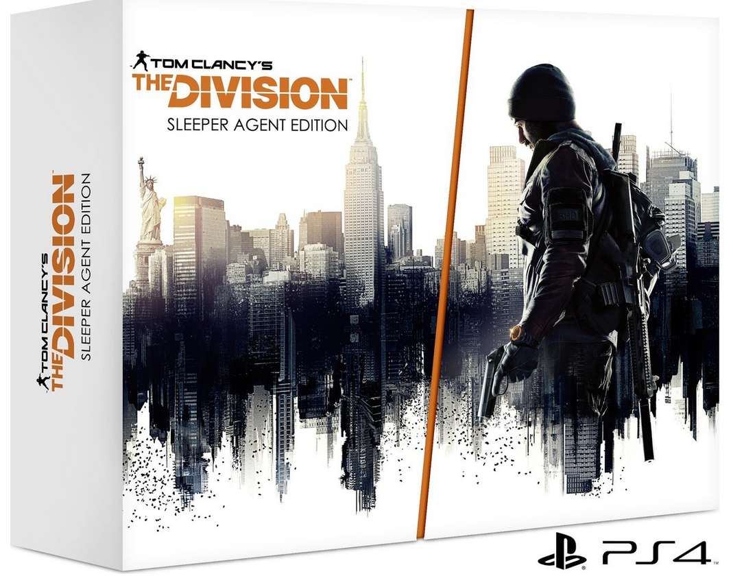 Boxart van Tom Clancy's The Division Sleeper Agent Edition (PS4), Ubisoft
