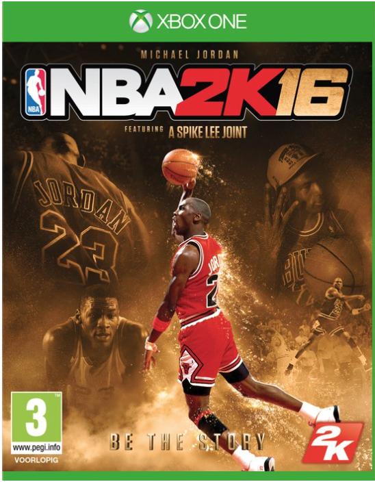 Boxart van NBA 2K16  Michael Jordan Collectors Edition (Xbox One), 2K Games