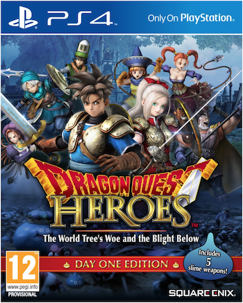 Boxart van Dragon Quest Heroes: The World Tree's Woe and the Blight Below (Day One Edition) (PS4), Square Enix