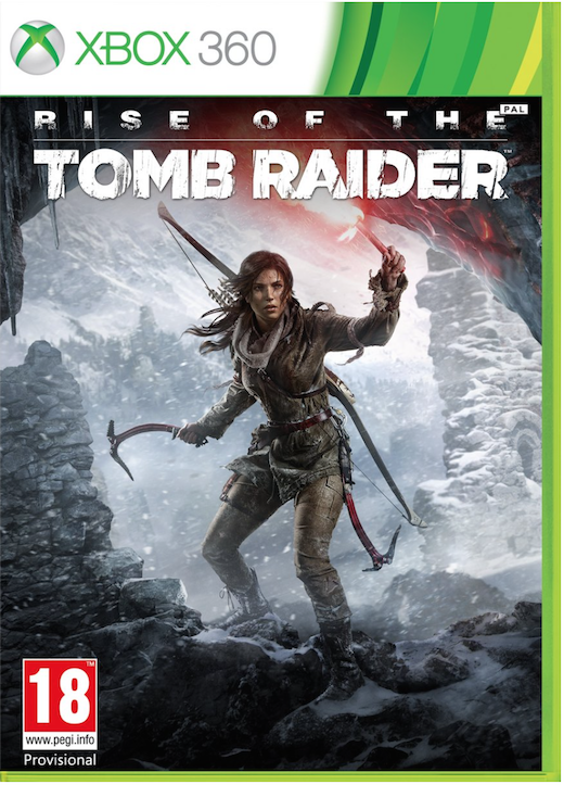 Boxart van Rise of the Tomb Raider (Xbox360), Crystal Dynamics