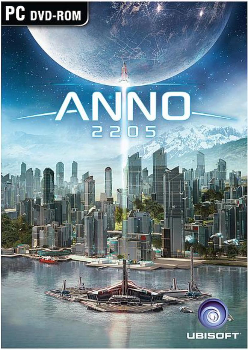 Boxart van Anno 2205 (PC), Ubisoft