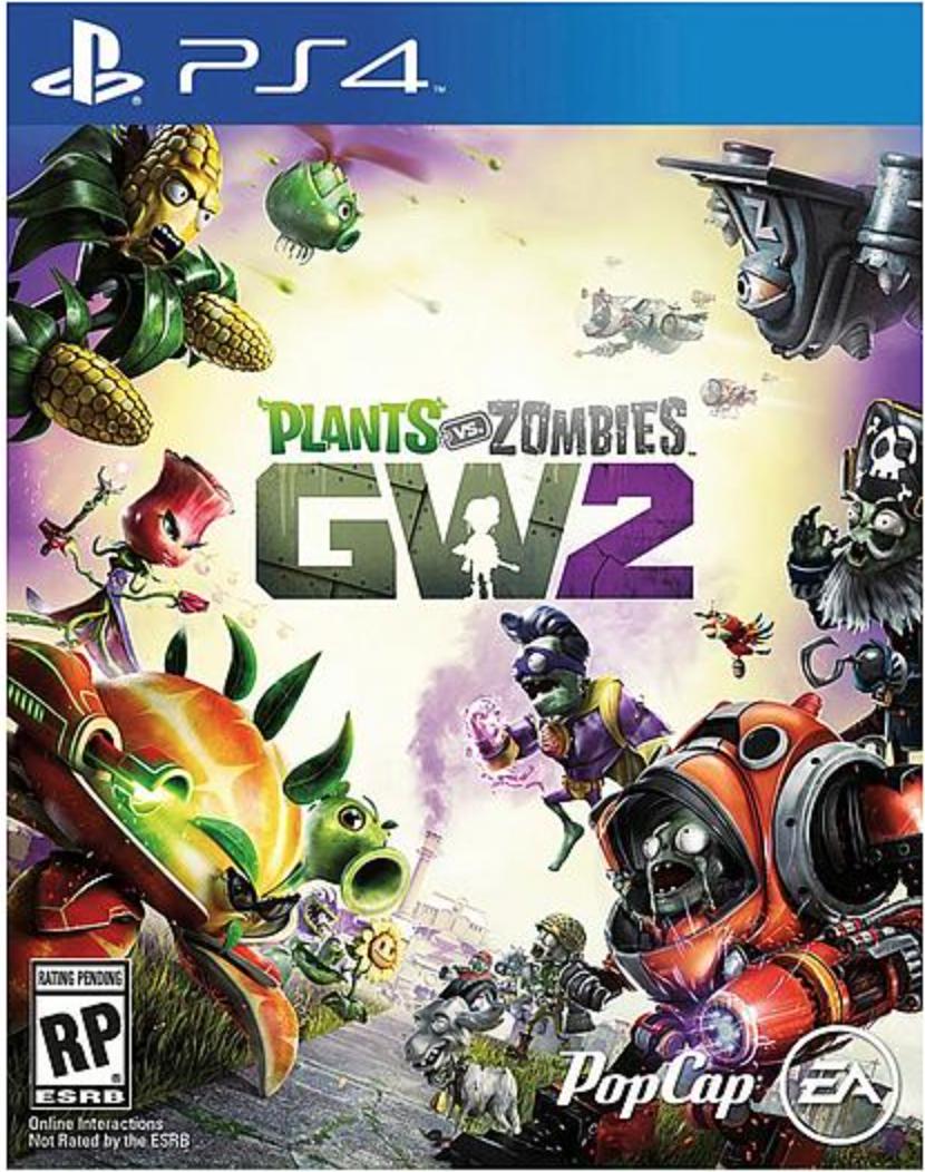 Boxart van Plants vs. Zombies Garden Warfare 2  (PS4), Popcap