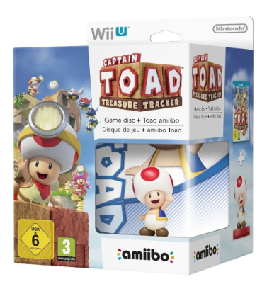 Captain Toad: Treasure Tracker Amiibo Bundle