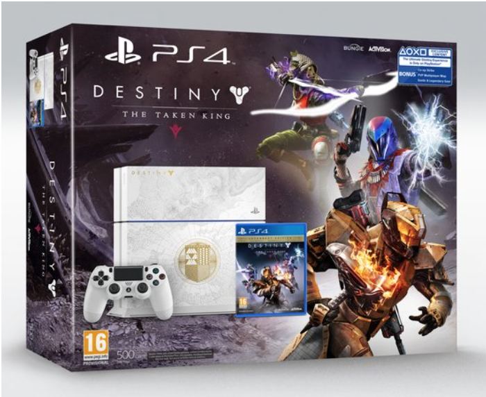 Boxart van PlayStation 4 (500 GB) Limited Edition + Destiny: The Taken King (PS4), Sony Entertainment