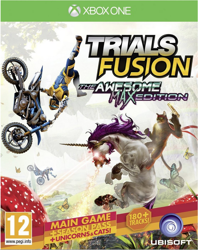 Boxart van Trials Fusion The Awesome Max Edition (Xbox One), Ubisoft