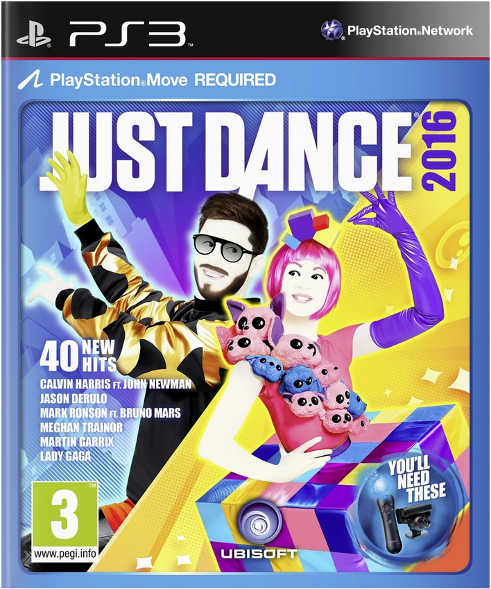 Boxart van Just Dance 2016 (PS3), Ubisoft