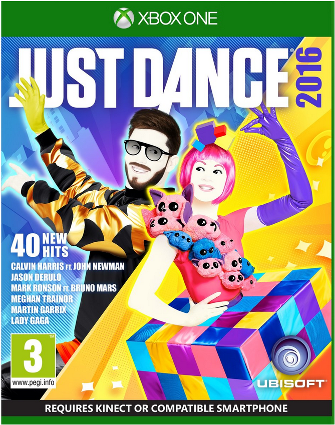 Boxart van Just Dance 2016 (Xbox One), Ubisoft
