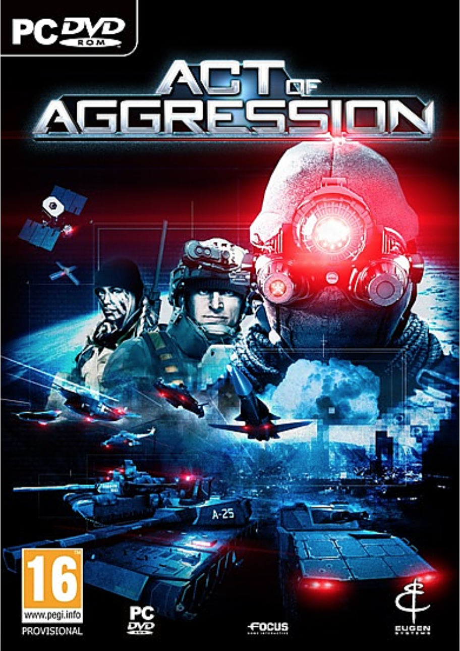Boxart van Act of Aggression (PC), Eugene Systems