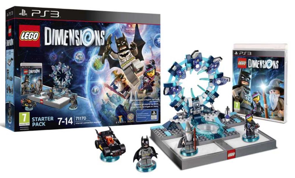 Boxart van LEGO Dimensions Starter Pack (PS3), Travellers Tales