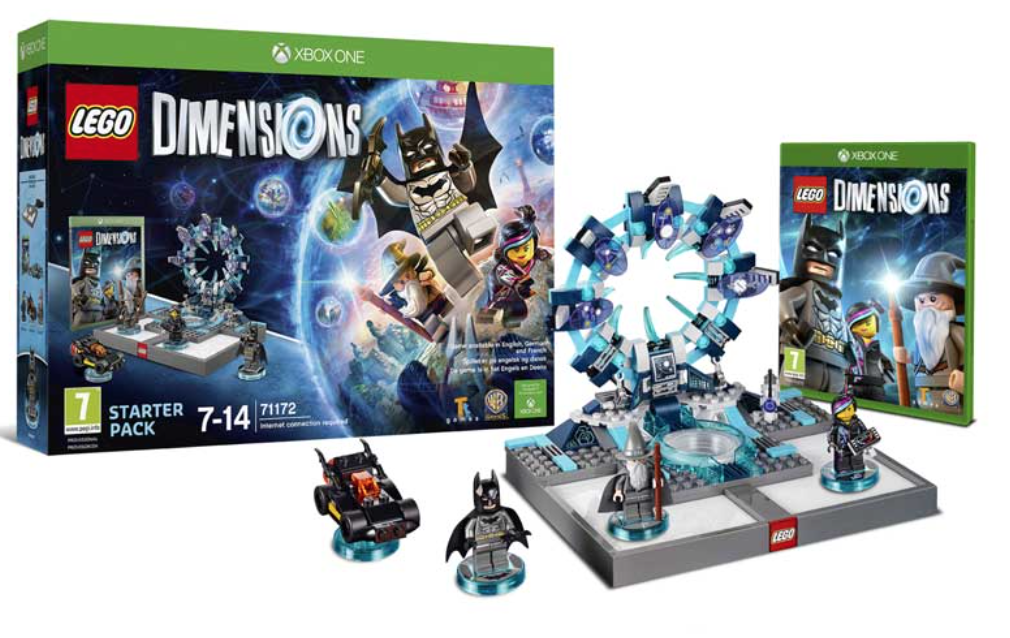 Boxart van LEGO Dimensions Starter Pack (Xbox One), Travellers Tales