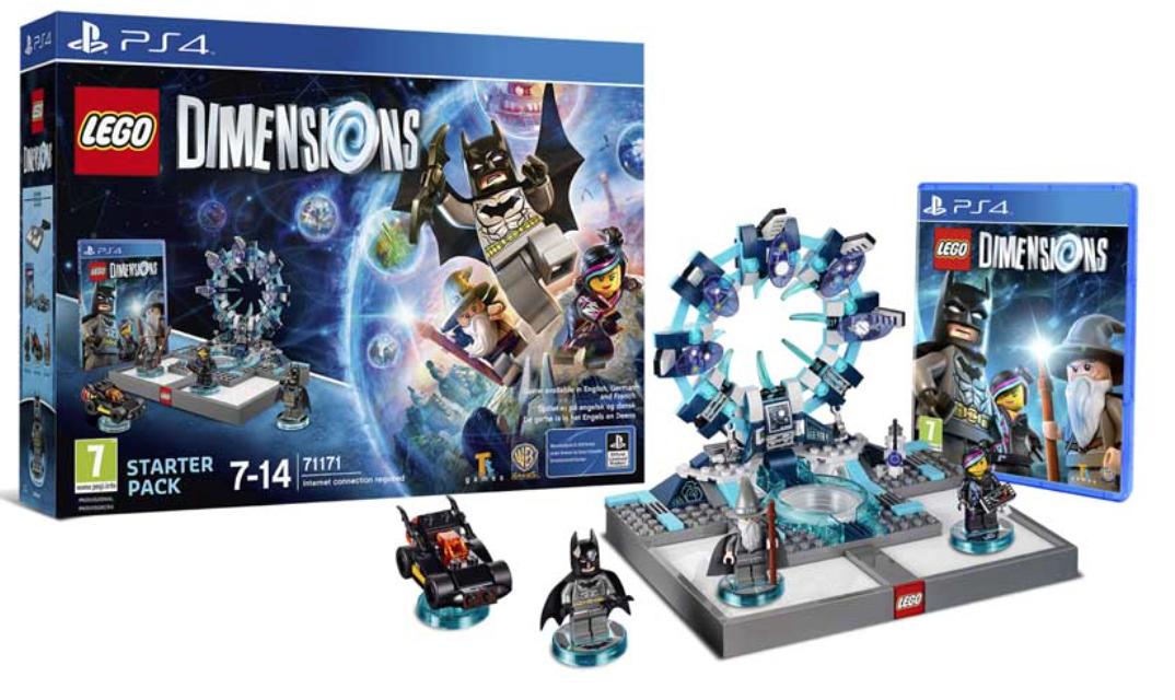 Boxart van LEGO Dimensions Starter Pack (PS4), Travellers Tales