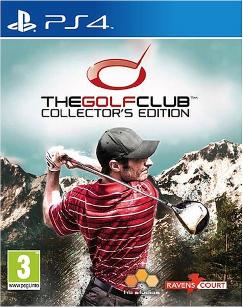 Boxart van The Golf Club Collectors Edition (PS4), Hb Studios