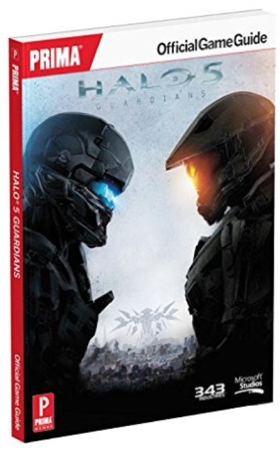 Boxart van Halo 5: Guardians Standard Edition Strategy Guide (Guide), Prima Games