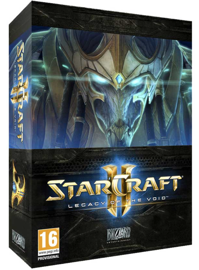 Boxart van StarCraft II: Legacy of the Void Collectors Edition (PC), Blizzard