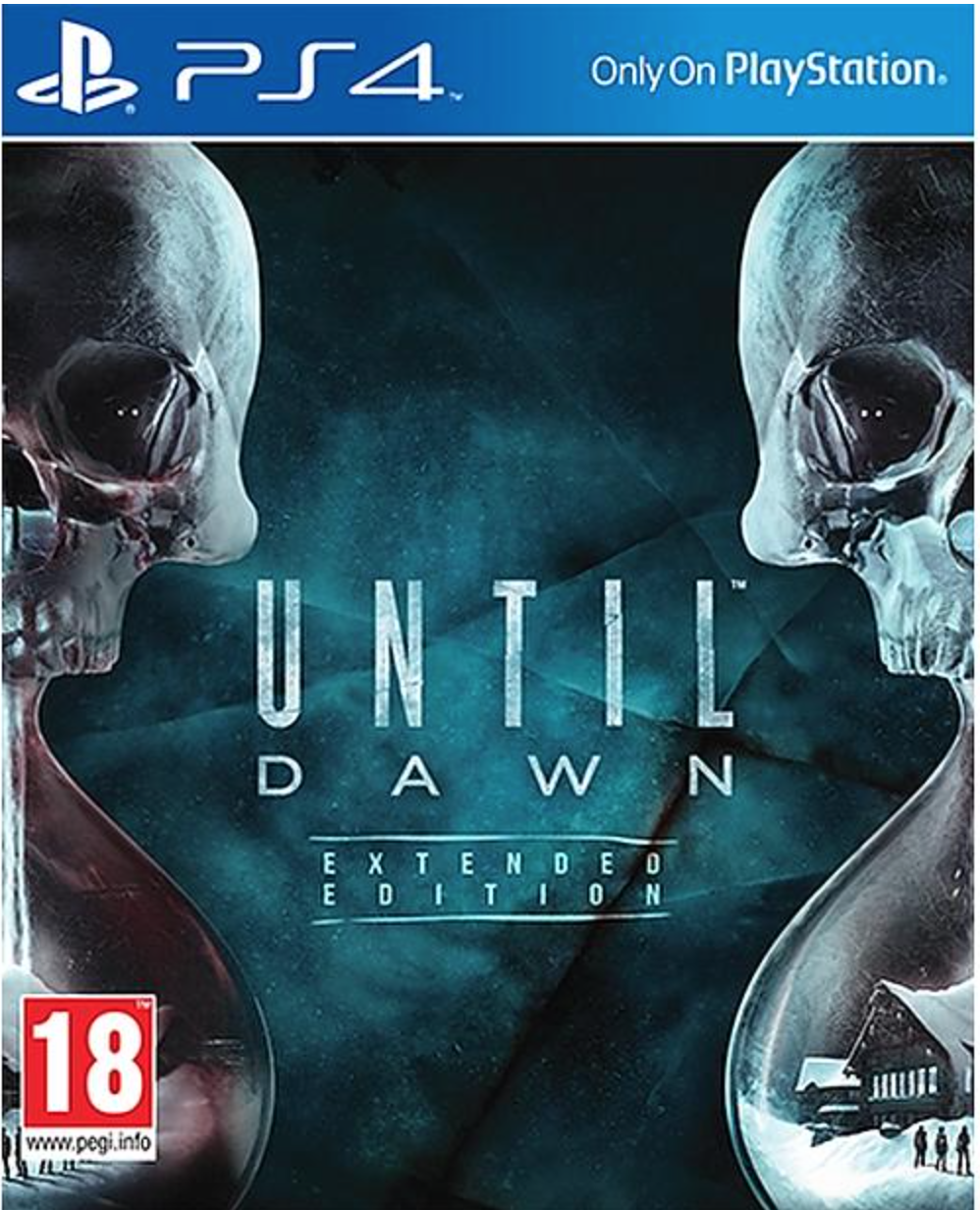 Boxart van Until Dawn: Extended Edition (PS4), Supermassive Games