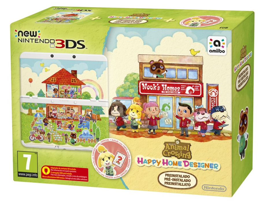 New Nintendo 3ds Limited Edition Animal Crossing Happy Home Designer Kopen Voor 3ds Laagste