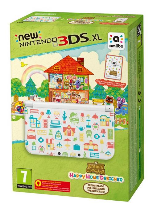 New Nintendo 3ds Xl Limited Edition Animal Crossing Happy Home Designer Kopen Voor De 3ds