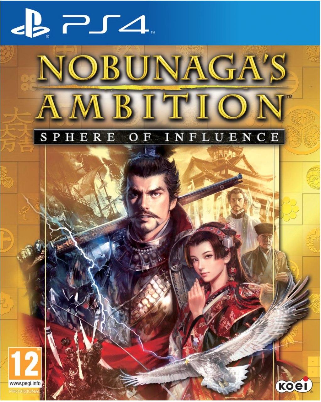 Boxart van Nobunaga's Ambition: Sphere of Influence (PS4), Koei