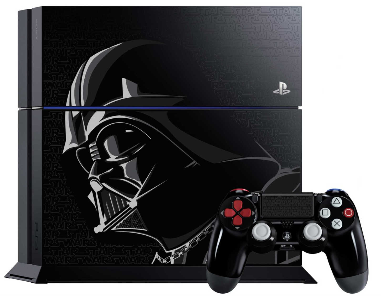 Boxart van PlayStation 4 (1 TB) Darth Vader Limited Edition + Star Wars: Battlefront Deluxe Edition (PS4), Sony Computer Entertainment