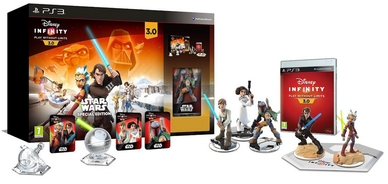 Boxart van Disney Infinity 3.0 Star Wars Starter Pack Special Edition (PS3), Avalanche Software