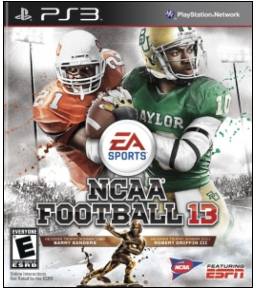 Boxart van NCAA Football 13 (PS3), EA Sports