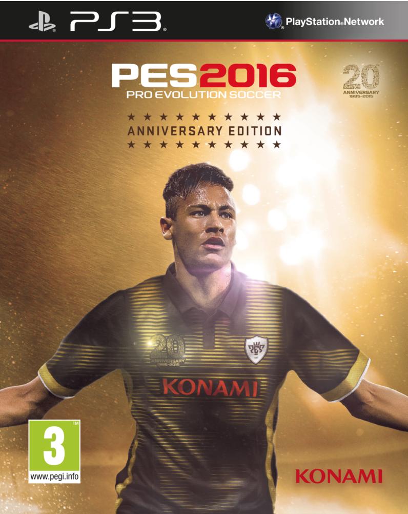 Boxart van Pro Evolution Soccer 2016 20th Anniversary Edition (PS3), Konami