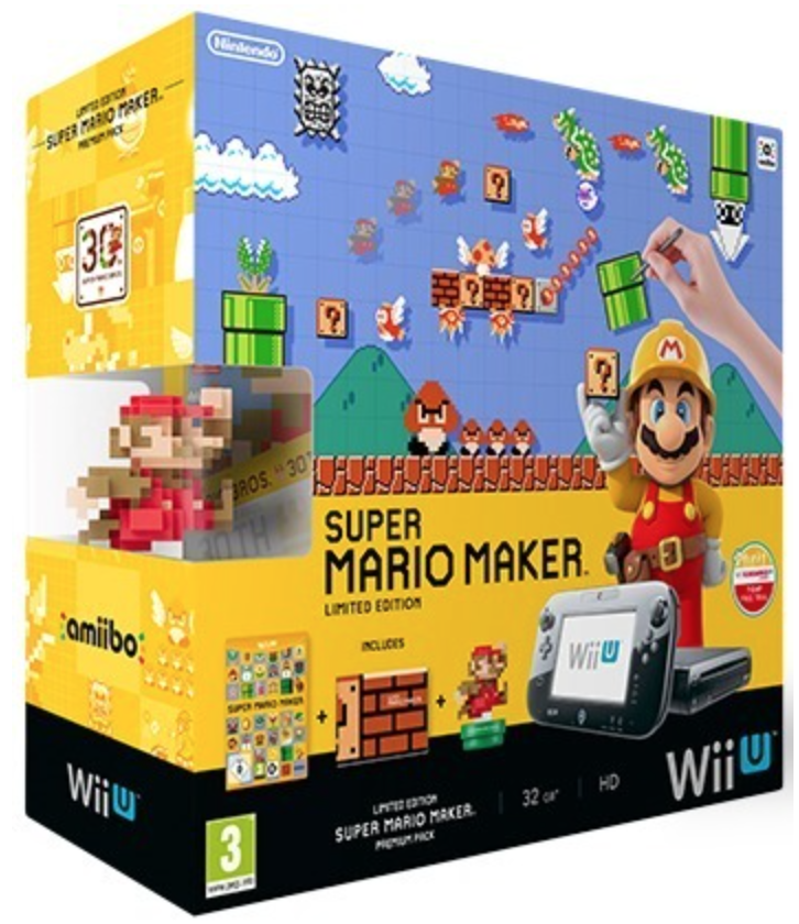 how to use amiibo on 3ds super mario maker