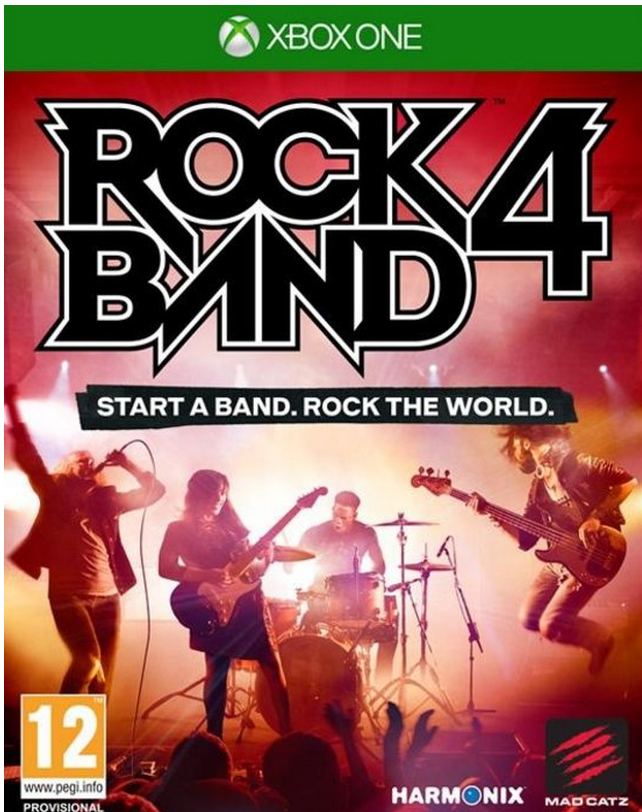 Boxart van Rock Band 4 (Game only) (Xbox One), Harmonix