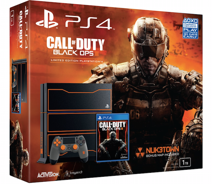 Boxart van PlayStation 4 (1 TB) Limited Edition Call of Duty Black Ops 3 (PS4), Sony Computer Entertainment