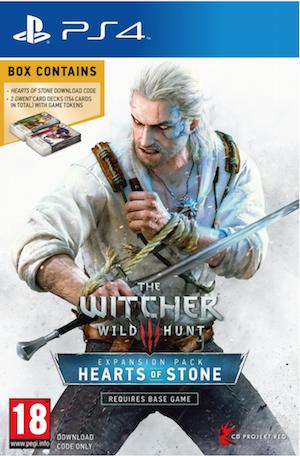 Boxart van The Witcher 3: Wild Hunt: Hearts of Stone DLC (PS4), CD Projekt Red