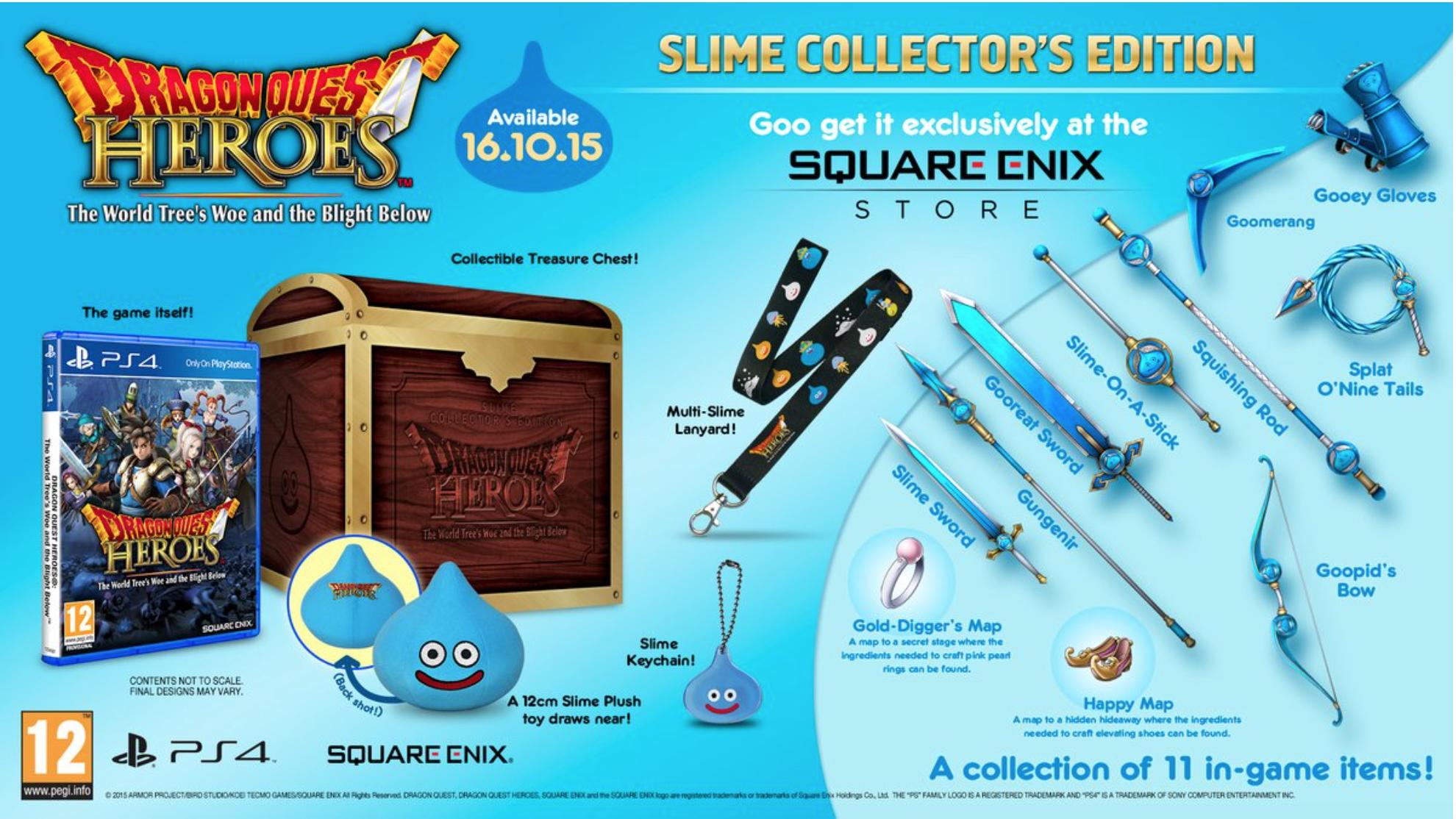 Boxart van Dragon Quest Heroes - Collectors Edition (PS4), Square Enix
