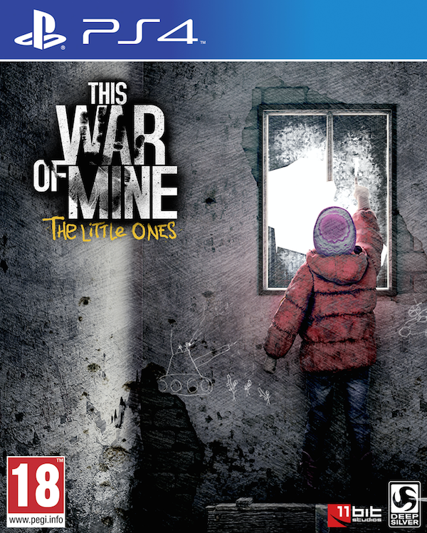 Boxart van This War of Mine: The Little Ones (PS4), 11bit Studios