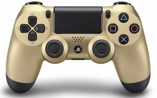 Boxart van Sony Wireless Dualshock PlayStation 4 Controller (goud) (PS4), Sony Entertainment
