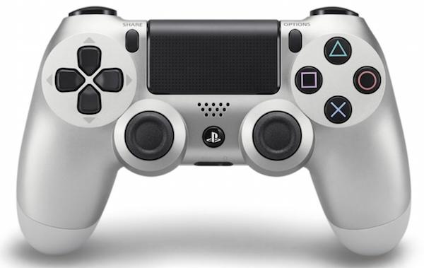 Boxart van Sony Wireless Dualshock PlayStation 4 Controller (zilver) (PS4), Sony Computer Entertainment