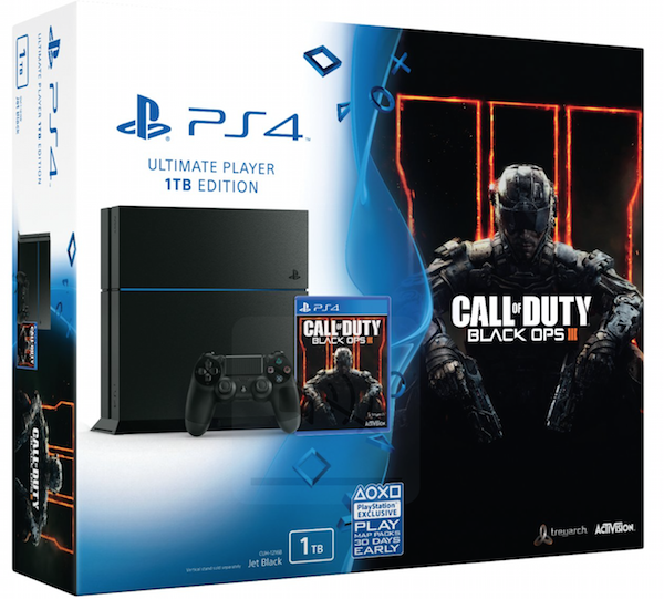 Boxart van PlayStation 4 (1 TB) + Call of Duty: Black Ops 3 (PS4), Sony Computer Entertainment