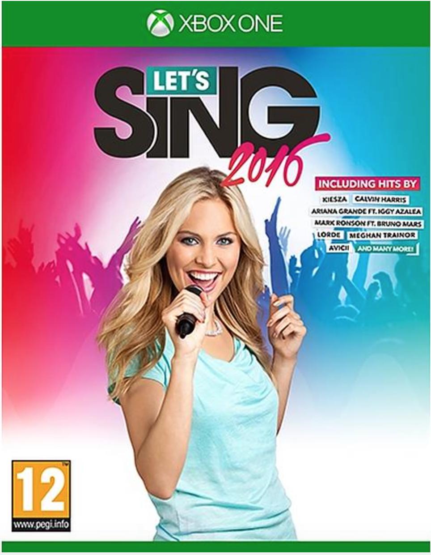 Boxart van Let's Sing 2016 (Xbox One), OG International