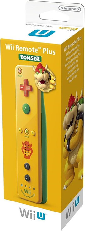 Boxart van Wii U Remote Plus Bowser Edition (Wiiu), Nintendo
