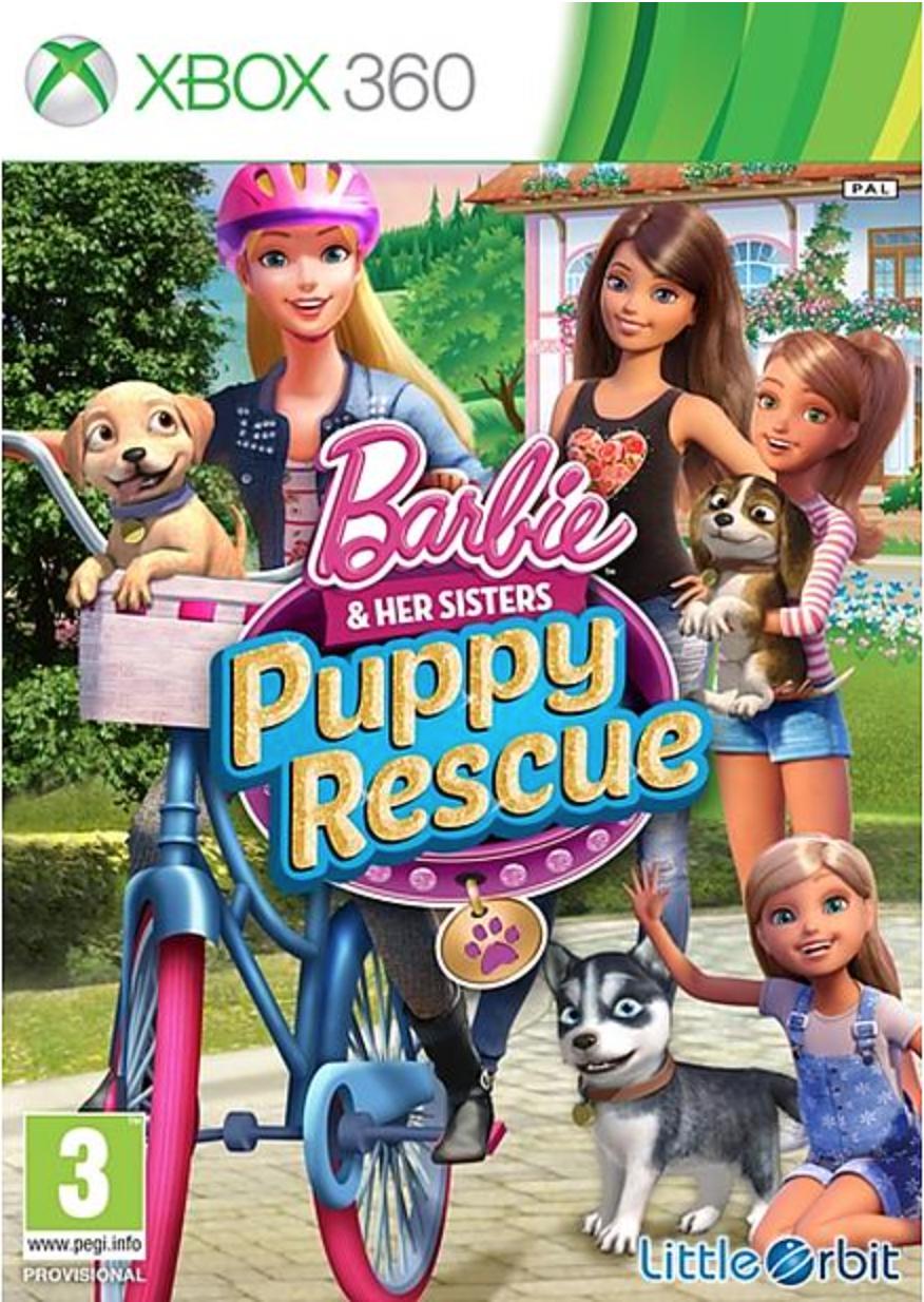 Boxart van Barbie And Her Sisters: Puppy Rescue (Xbox360), LittleOrbit