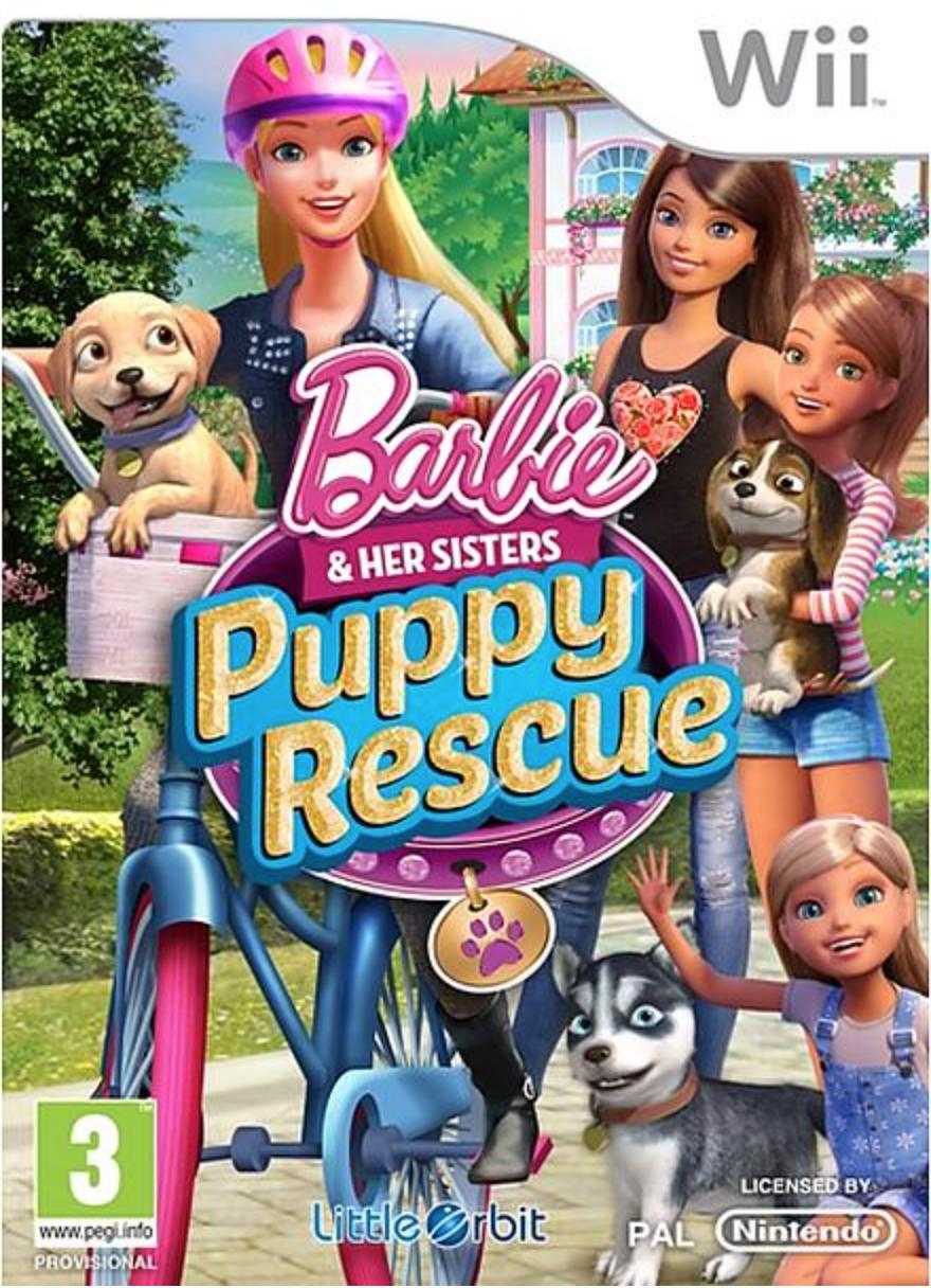 Boxart van Barbie And Her Sisters: Puppy Rescue (Wii), LittleOrbit