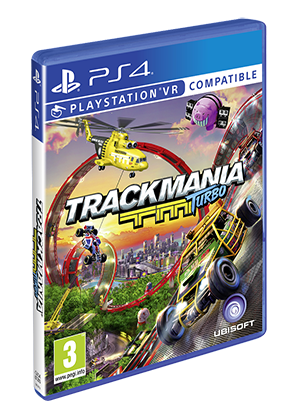Boxart van Trackmania Turbo (+PSVR) (PS4), Ubisoft