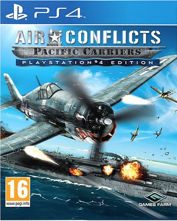 Boxart van Air Conflicts: Pacific Carriers (PS4), Games Farm