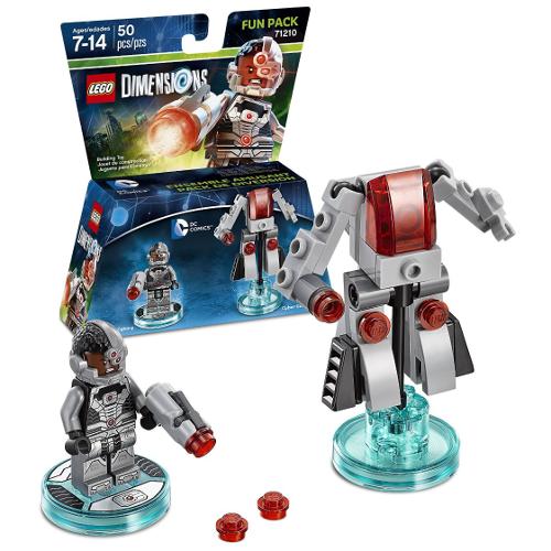 Boxart van LEGO Dimensions: DC Comics (Cyborg) Fun Pack  (NFC), Travellers Tales