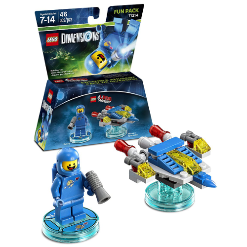 Boxart van LEGO Dimensions: The Movie (Benny) Fun Pack (NFC), Travellers Tales