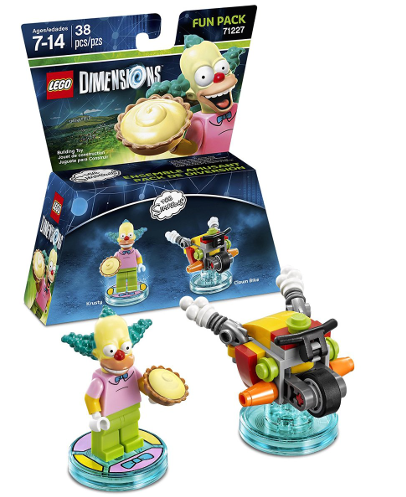 Boxart van LEGO Dimensions: The Simpsons (Krusty de Clown) Fun Pack (NFC), Travellers Tales