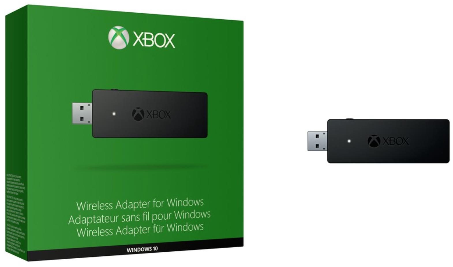 Boxart van Microsoft Xbox Wireless Adapter for Windows PC (PC), Microsoft
