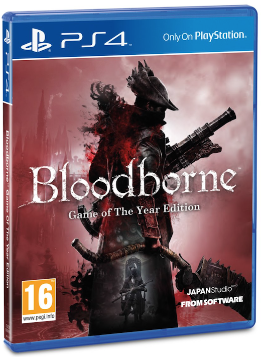 Boxart van Bloodborne Game Of The Year Edition (PS4), From Software
