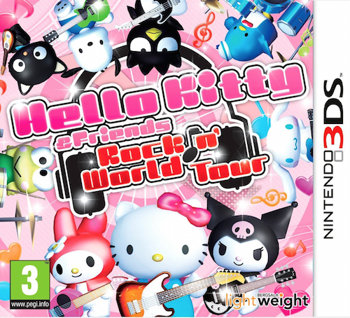 Boxart van Hello Kitty & Friends: Rock n' World Tour (3DS), Bergsala Lightweight