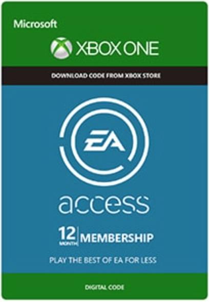 Boxart van EA Access 12 maanden (Xbox One), EA Games