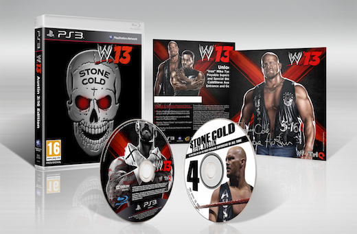 Boxart van WWE '13 Stone Cold Edition (PS3), YUKE'S