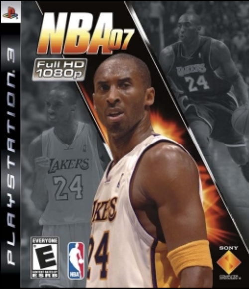 Boxart van NBA 07 (PS3), Sony Entertainment